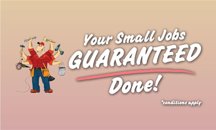 Handyman Guarantee